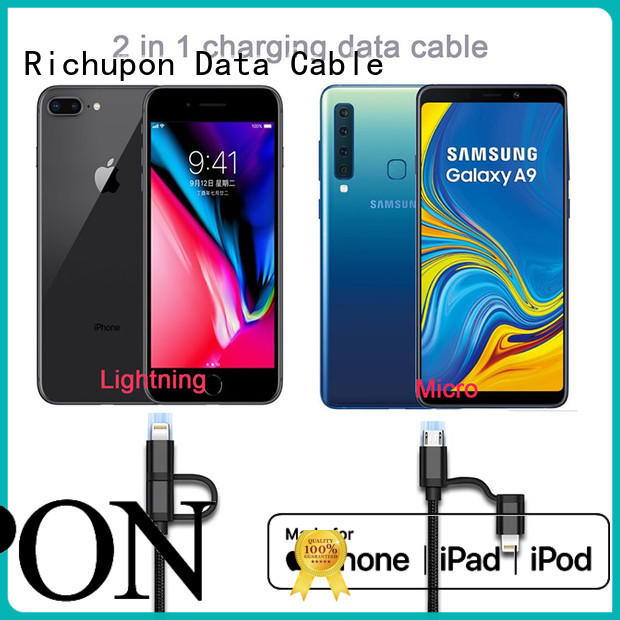 Richupon usb 2 in 1 supplier for charging