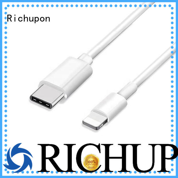 Richupon ipod braided lightning cable for business for data transmission