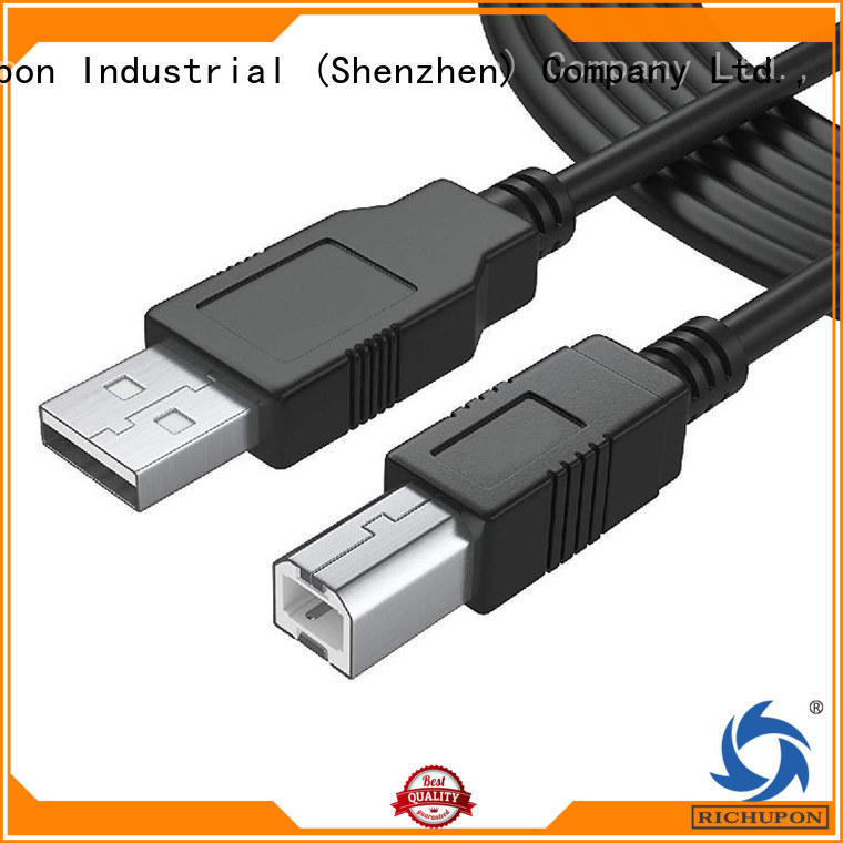 Richupon Custom usb type a type b manufacturers for data transfer