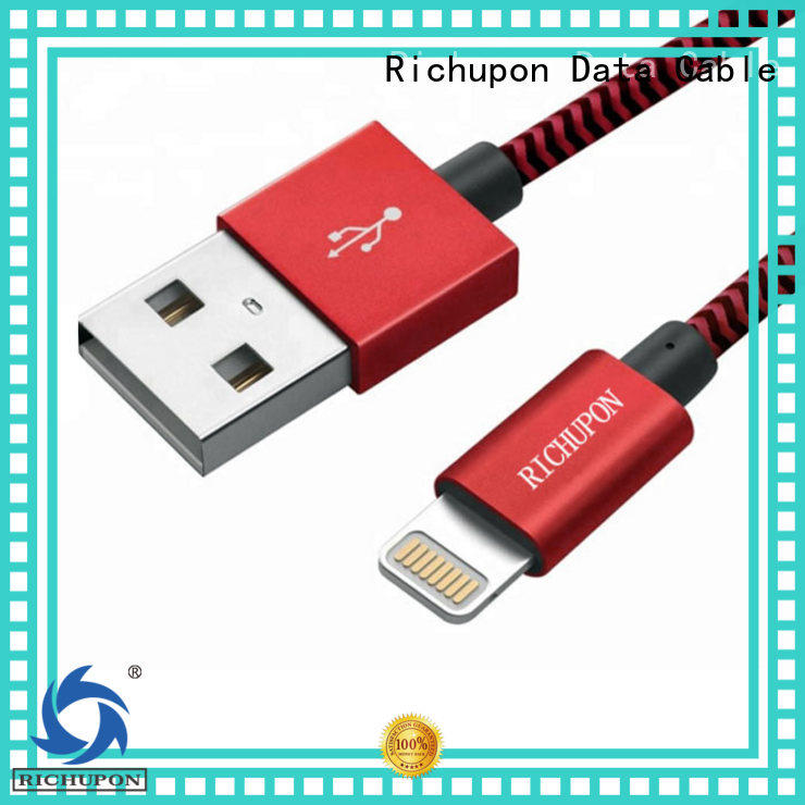 Richupon mfi lightning cable supplier for charging