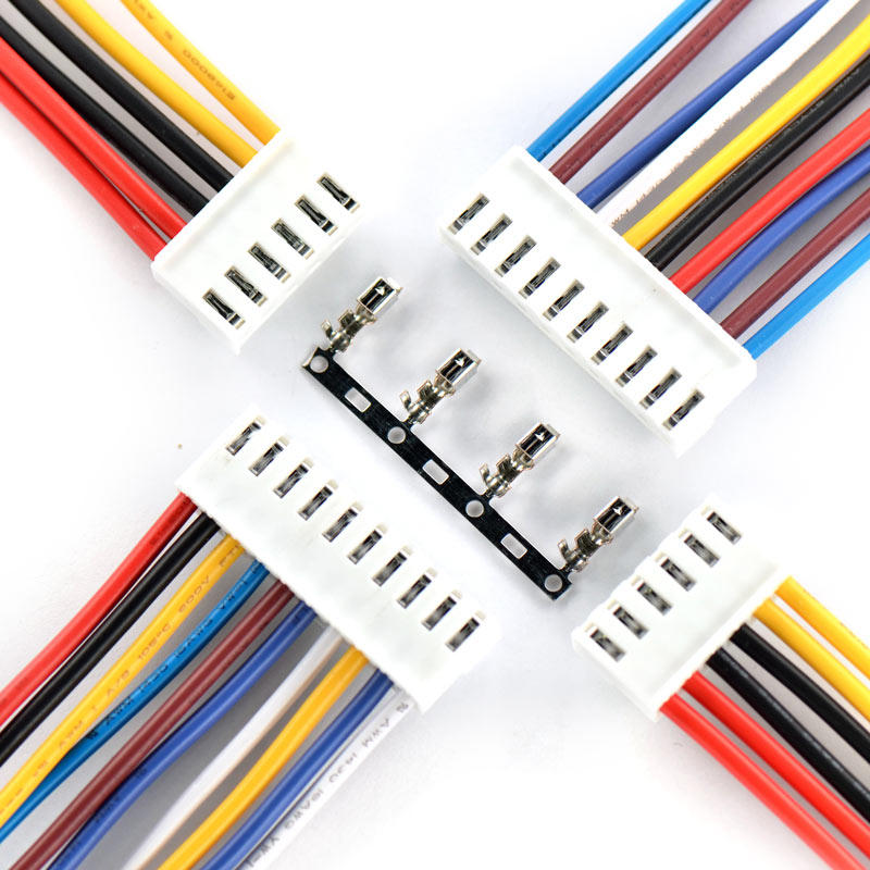 Custom 2.6 mm to 7mm pitch wire harness assembly