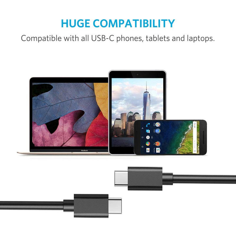 3.1Type c power cable fast charge usb gen 2 cables