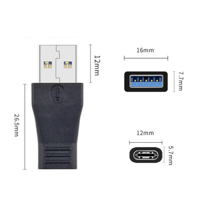 Custom adapter usb 3.1 gen 1 type c to male adapter supplier