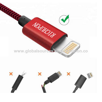 Custom lightning cable ODM MFI USB cable for iPhone