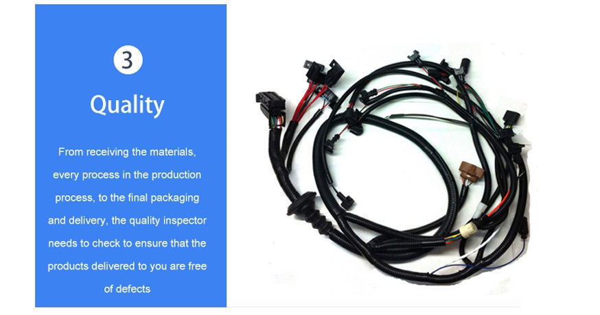 China IATF16949 certified Automotive Wire Harness, Japanese technical and quality standard wiring harness