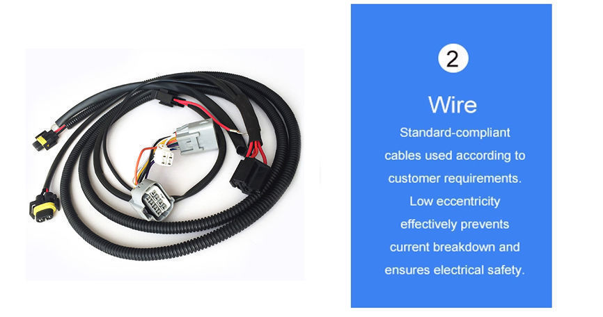 China Richupon ISO9001 14001 auto wiring harness,IATF16949 certified Automotive Wire Harness made in China