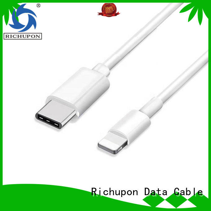 Richupon super quality apple lightning to usb cable bulk production for data transfer