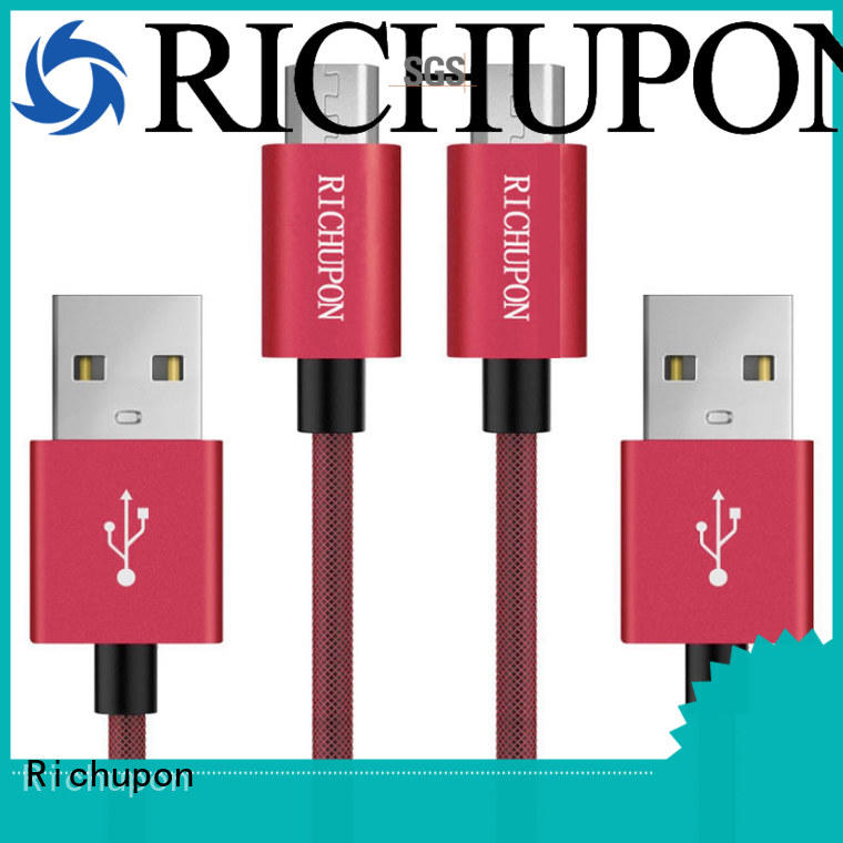 Richupon small micro usb cable for manufacturer for data transfer
