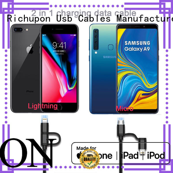 Richupon most 2in1 lightning suppliers for mobile