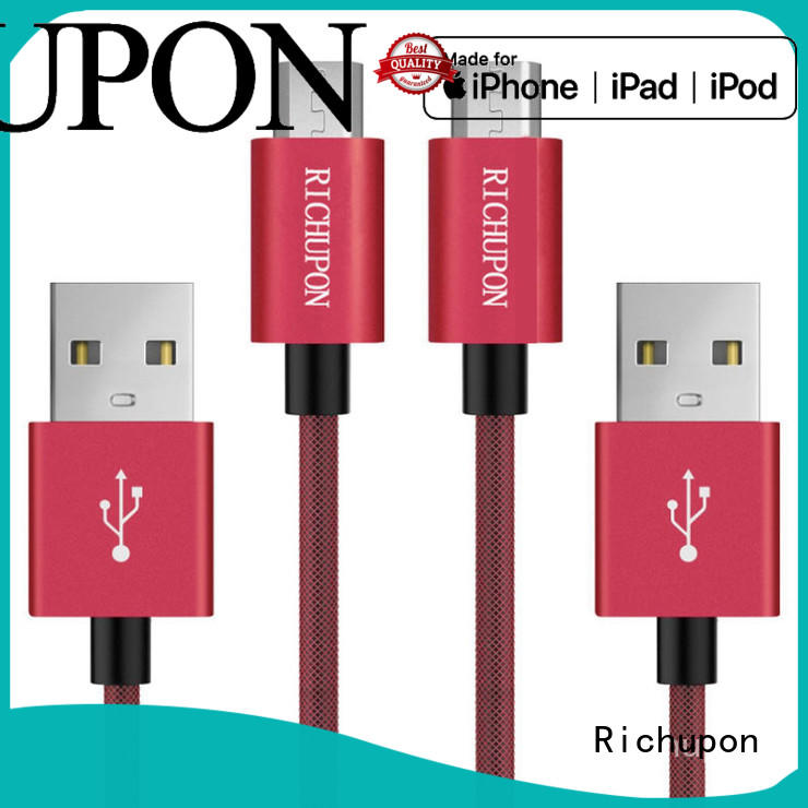 Richupon micro cable usb free design for data transfer