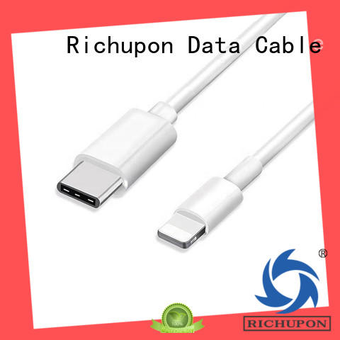 Richupon fashion design high quality lightning cable overseas market for data transmission