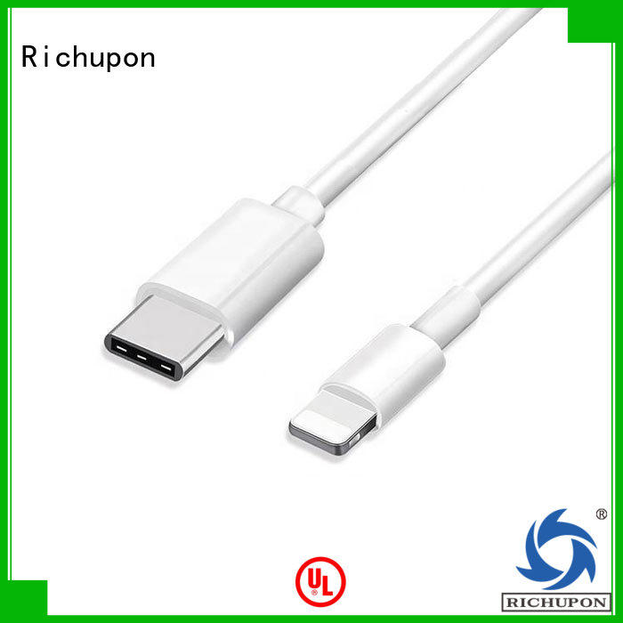 Richupon mfi charging cable directly sale for charging