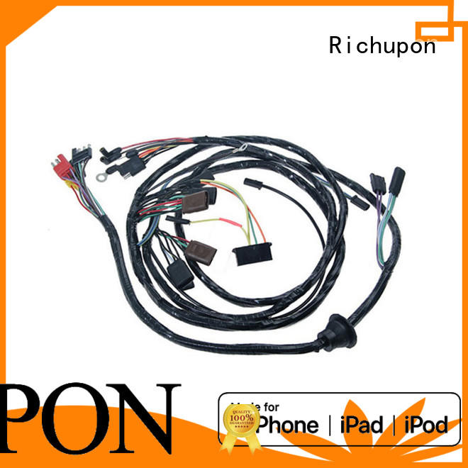 Richupon industrial cable harness assembly suppliers manufacturers for automotive