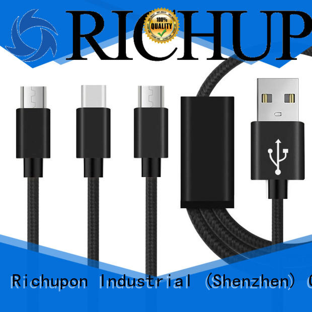 Richupon high quality data cable manufacturer for data transfer