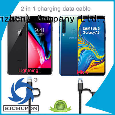 Richupon cable 2 en 1 directly sale for data transmission
