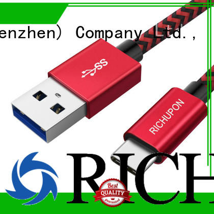 Richupon great practicality type c data cable free design for data transfer