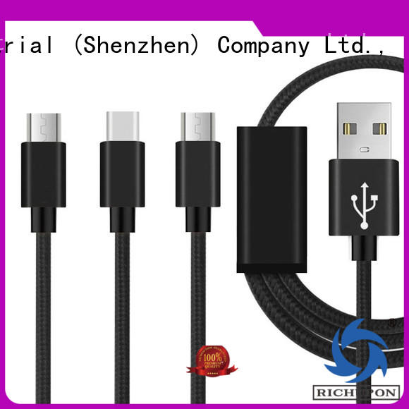 Richupon Top 3 in 1 usb data cable supply for data transmission