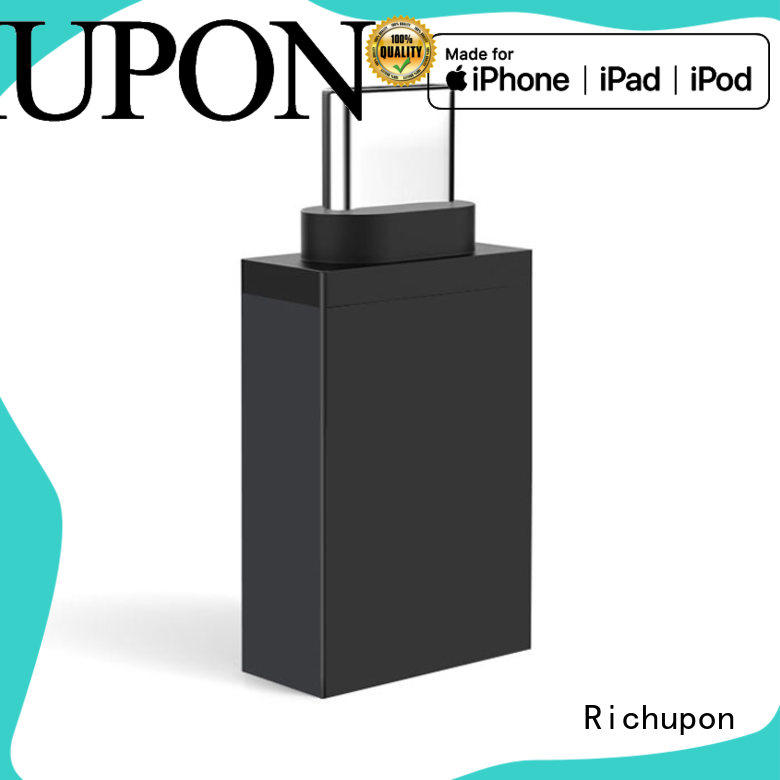 Richupon usb plug adapter overseas market for Cell Phones