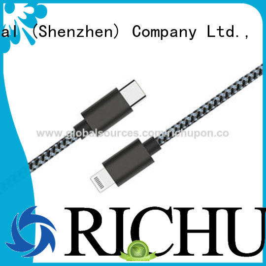 Richupon Custom macbook usb c cable manufacturers for keyboard