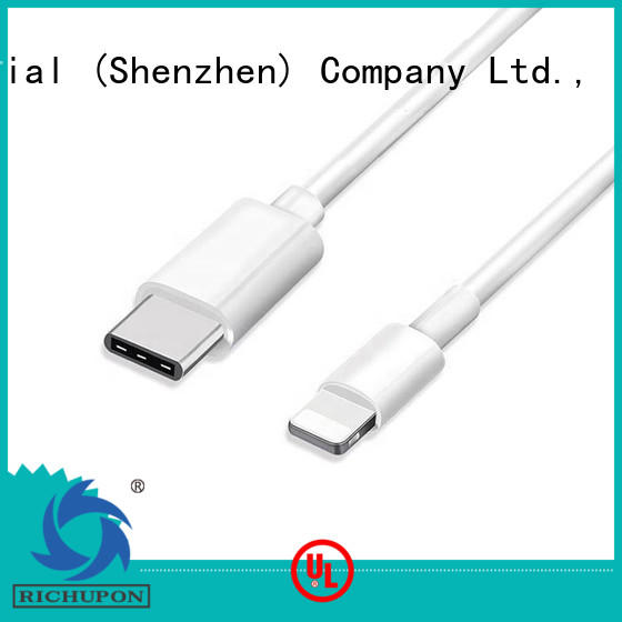 Richupon lightning charging cable bulk production for data transmission