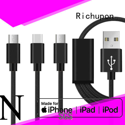 Richupon 3 in 1 3 in 1 cable usb directly sale for charging