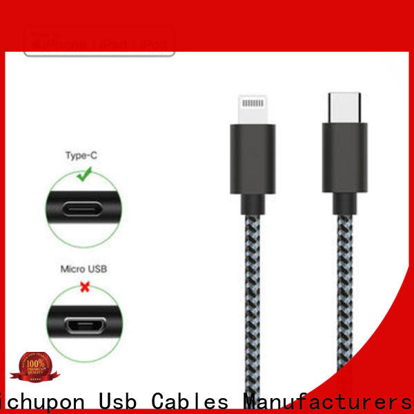 Richupon power usb 3.1 type c cable for business for power bank