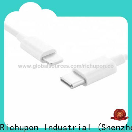 Richupon lightning usb 3.1 type c cable supply for keyboard