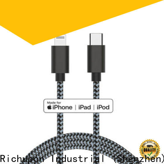 Richupon Wholesale type c charger cord factory for power bank