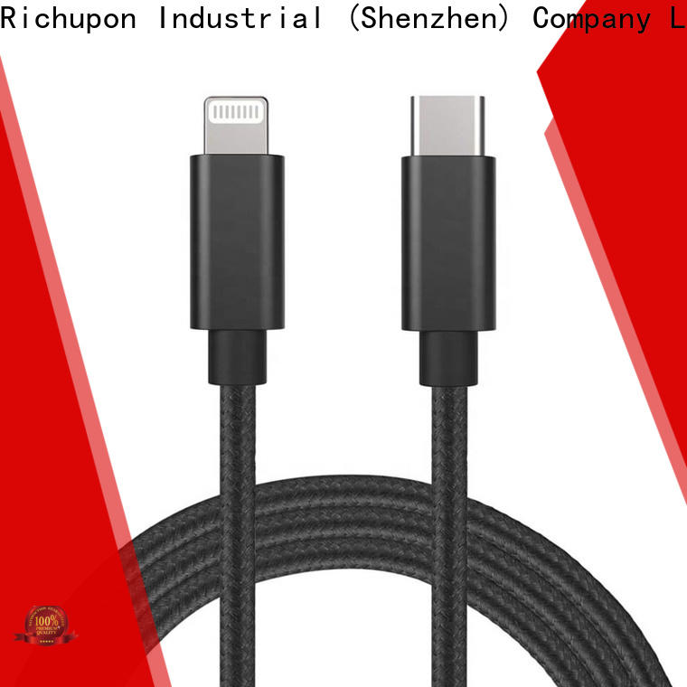 Richupon usb 180 degree lightning cable for business for ipad