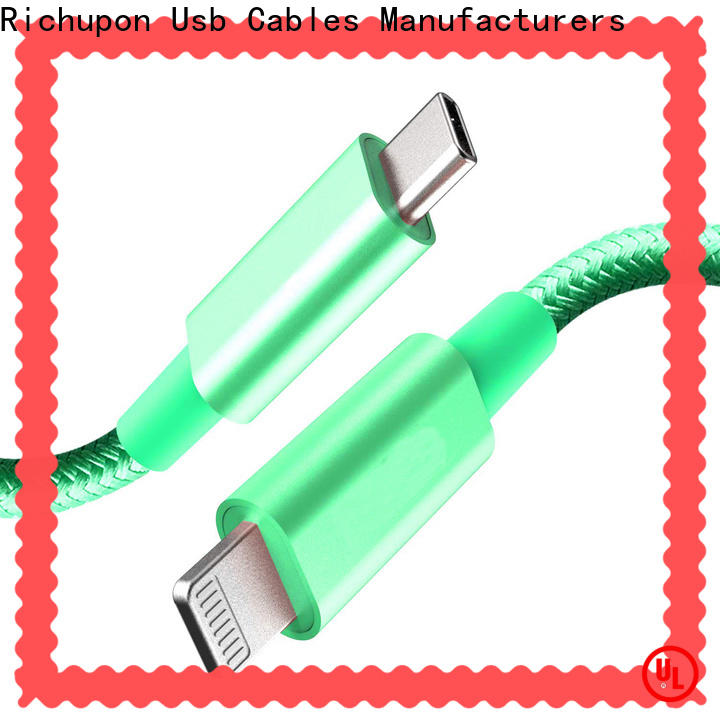 Richupon Custom ipad pro lightning cable company for data transfer