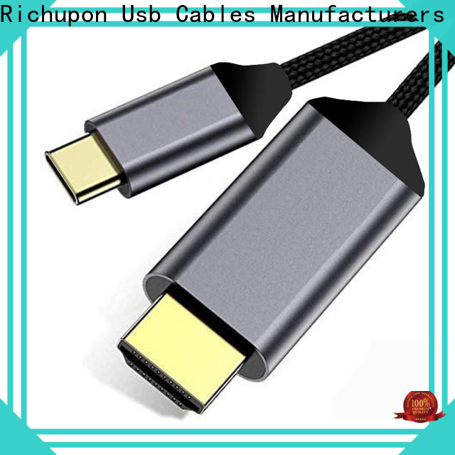 Richupon Latest nintendo switch usb c to hdmi cable supply for usb-c