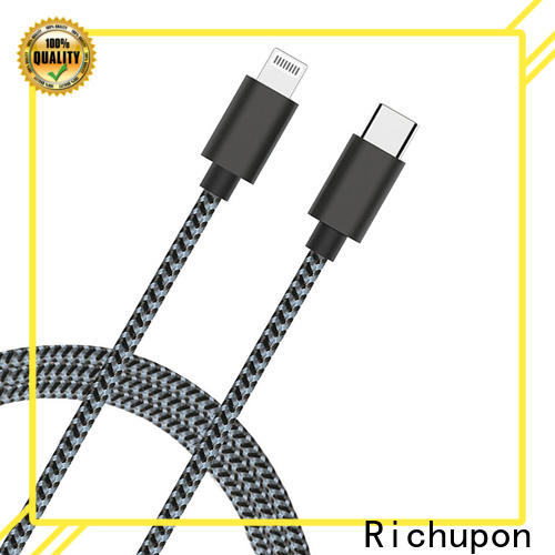 High-quality long apple lightning cable charge factory for data transmission