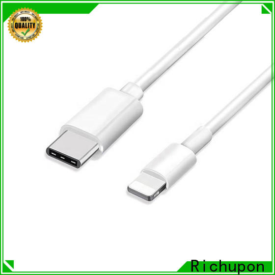 Richupon New apple lightning to usb cable manufacturers for charging