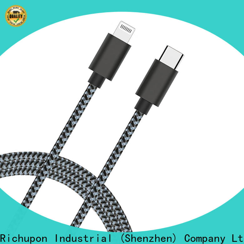 Richupon mfi portable charger with built in lightning cable factory for apple