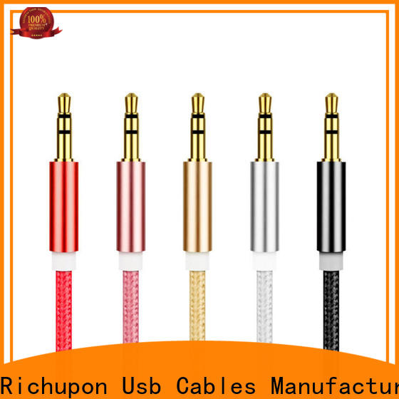 Richupon Wholesale audiophile usb cable manufacturers for headphones