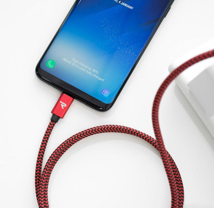 Custom Nylon Braided Type C USB Cable 3A Fast Charging Manufacturer